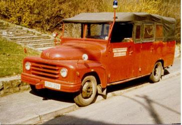 1963 – Erwerb des TSF von der Bereitschatspolizei