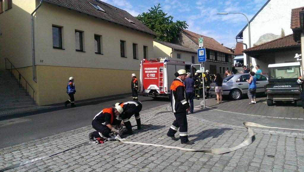 Schauübung in Breitbrunn